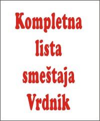 Smestaj Banja Vrdnik